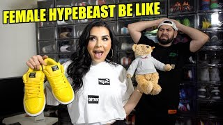 10 TYPES OF FEMALE HYPEBEAST