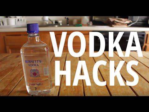 Alcohol Hacks: Vodka