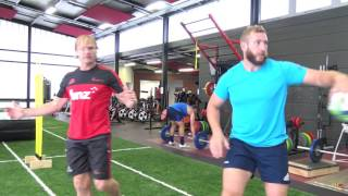 Crusaders training footage 22 03 17