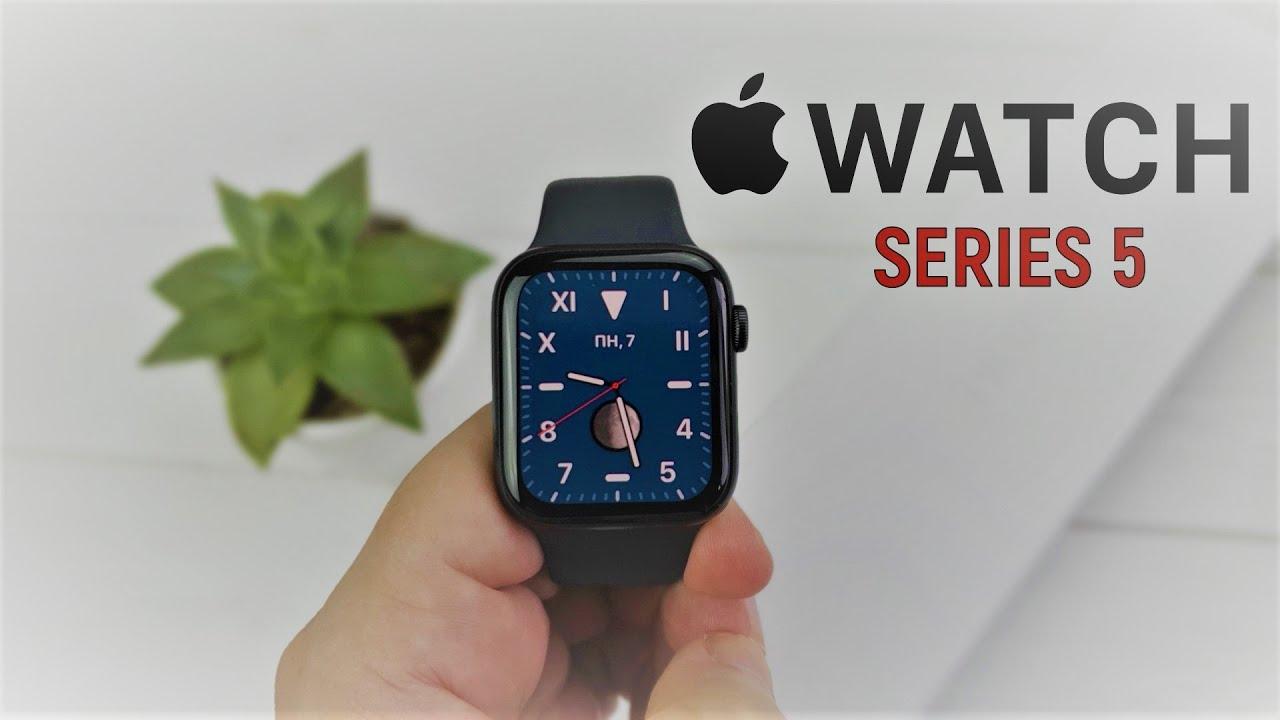 Купил Apple Watch Series 5 за 34 990 рублей!