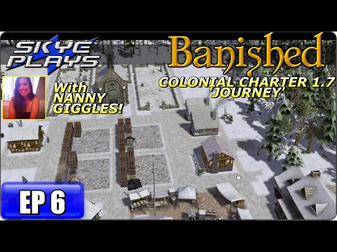 Banished Colonial Charter 1.7 Part 6 ►THE MINING VILLAGE!◀ Let