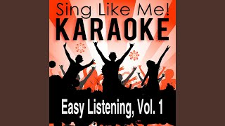 The Golden Sax (Karaoke Version) (Originally Performed By Pete Tex)