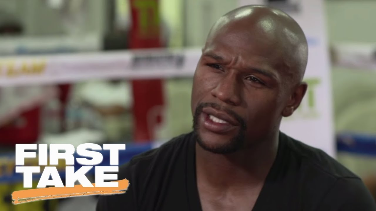 First Take Reacts To Floyd Mayweather's Interview With Stephen A. Smith | First Take | ESPN