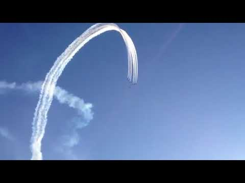 Red Arrows Over Douglas, Isle of Man