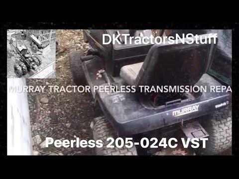 Murray Tractor Peerless Transmission Model 205 024C Repair