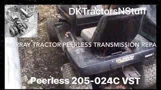 Murray Tractor Peerless Transmission (model 205-024C)  Repair
