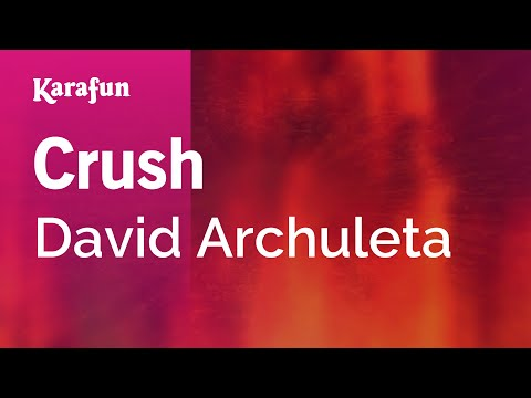 Karaoke Crush - David Archuleta *