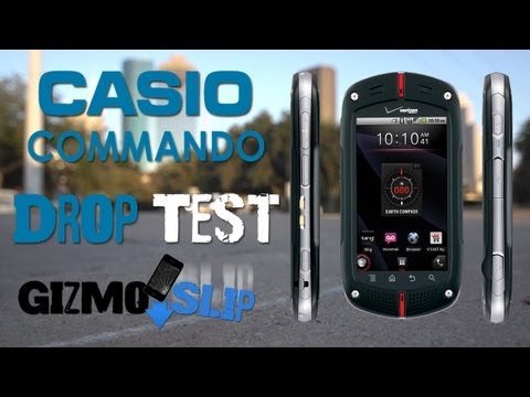 Casio Commando Extreme Drop Test!!