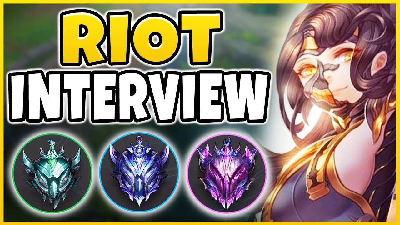 RIOT INTERVIEW: *NEW* SEASON 9 RANKED REWARDS/CHANGES, MASTERY 8,9,10?! -  League of Legends