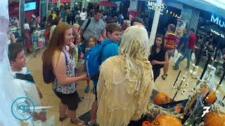 Northgate Shopping Center - Trick and Treat Prank (SO FUNNY!!)