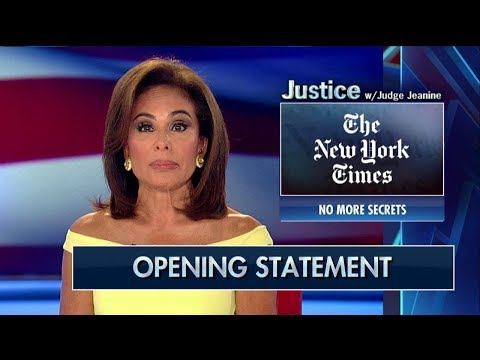 Judge Jeanine to NY Times: 'Get on Board With 'Make America Great Again' or 'Get Out of the Way'
