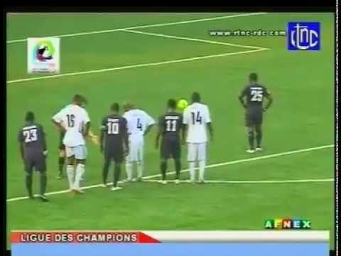 TP Mazembe vs  Chelsea Berekum(Ghana) 2012 :  2 - 2.