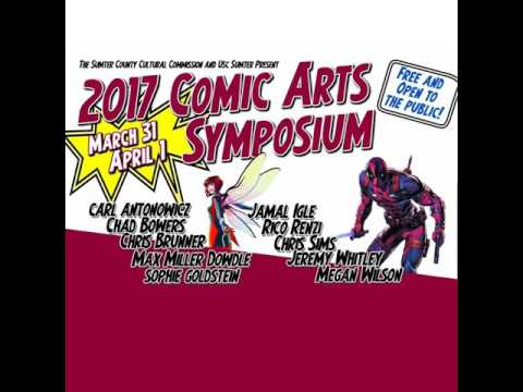 On Location: Talking with Creators at the Sumter Comic Arts Symposium 2017