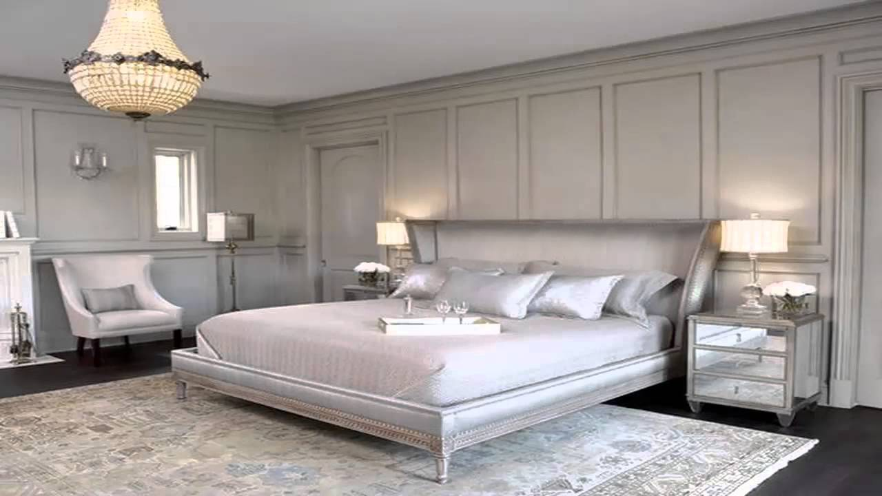 Silver bedrooms youtube for Bedroom ideas silver