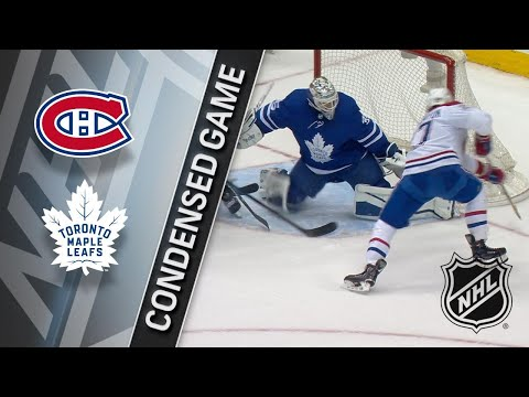 03/17/18 Condensed Game: Canadiens @ Maple Leafs