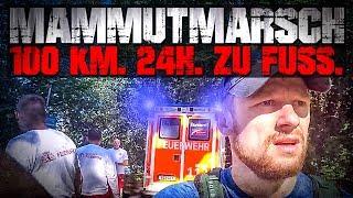 GAME OVER!!! 100 KM 24H ZU FUSS - Mammutmarsch 2017 | Fritz Meinecke
