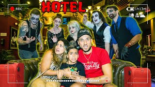 We Got TRAPPED in a HAUNTED HOTEL!! | The Royalty Family