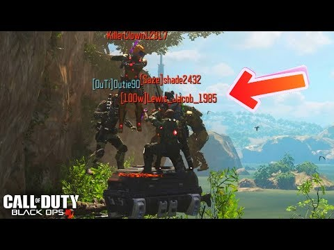 BEST HIDING SPOTS ON BLACK OPS 3 IN 2017... (Hunted Glitches BO3)
