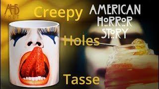 American Horror Story: Creepy Holes Tasse