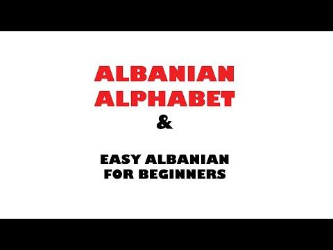 MOD_I_001 Albanian Alphabet