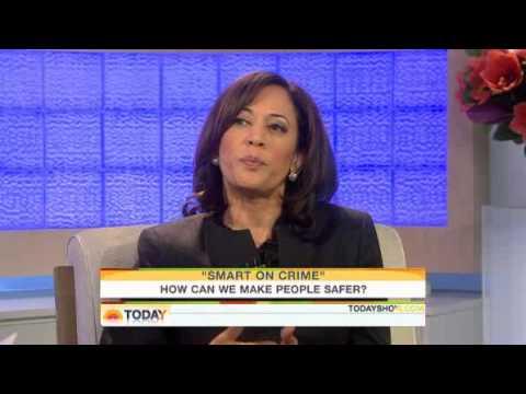 Kamala Harris on the Today Show