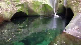 龍鎮神社の滝