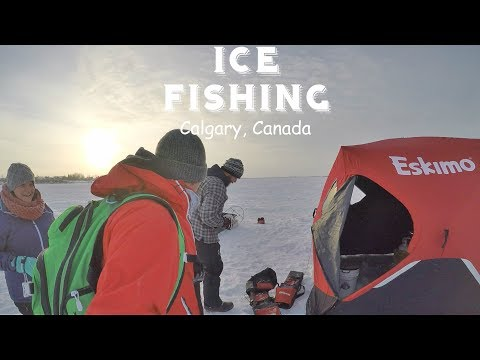 CALGARY | ALBERTA | CANADA | ICE FISHING | A World With You