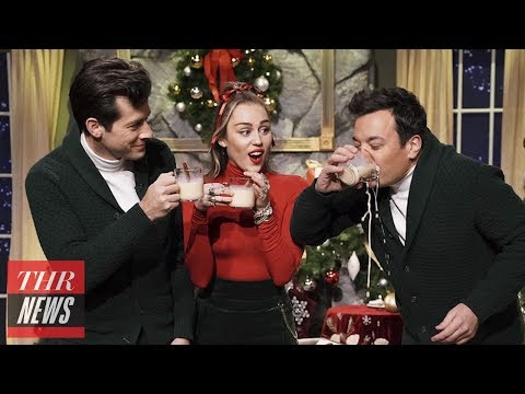 Miley Cyrus Gives Feminist Rendition of 'Santa Baby' on 'Tonight Show' | THR News Mp3