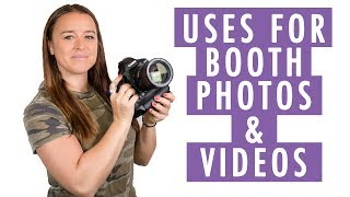 Uses for Photos and Videos of Your Booth