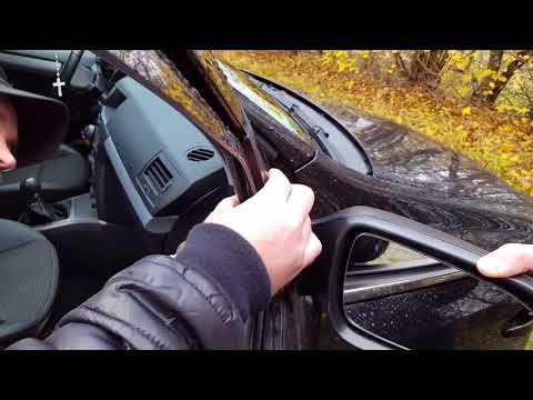 Замена бокового зеркала / Außenspiegel Abbauen Opel Astra H 2006