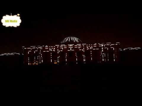 Sharjah Light Festival 2018 . From University city