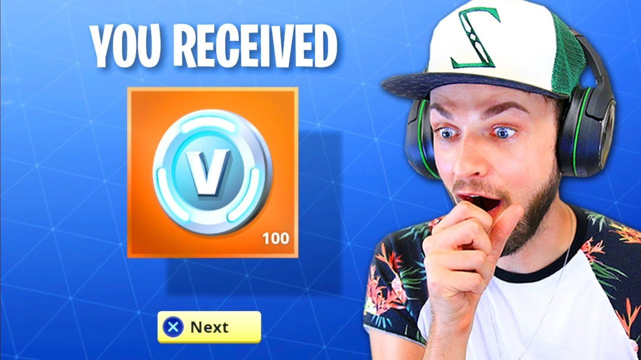 White Van That Says Free V Bucks | Fortnite Generator Get ...