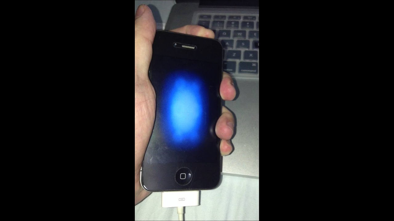 iphone blue screen iphone 4 blue screen vibration of 11658