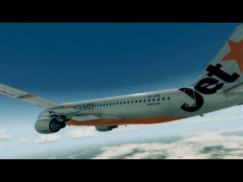 Departure from Sydney | Prepar3D 3.2 | Aerosoft Airbus A320 | Flytampa Sydney | MCE | PF3