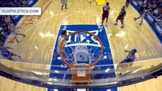 Perry Ellis Dunk vs Rider // Kansas Basketball // 11.24.14