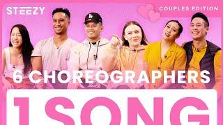 Indigo - NIKI |  6 Dancers Choreograph To The Same Song - Couples Edition