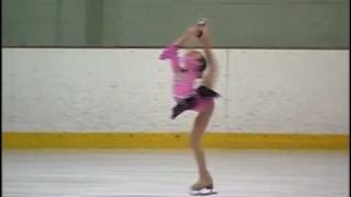 Caitlin Nguyen 8 yr old Ice Skater Pre-juvenile