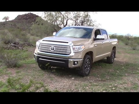2017 Toyota Tundra Mpg >> 2017 Toyota Tundra Trd 4x4 Performance Fuel Economy Youtube
