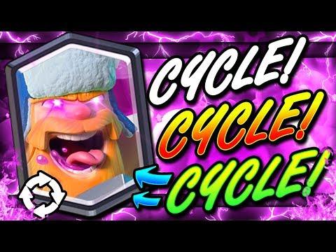 2.8 ELIXIR HYPER AGGRESSIVE LADDER DECK!! SUPER FAST CYCLE!