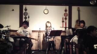 「キセキ」 植村花菜のカバー曲 しのさちきん 20111015 in M/C HANA.