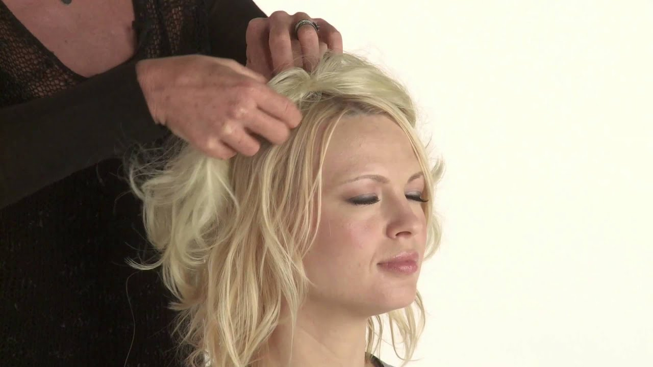 Mid Top Extension By Tabatha Coffey How Tutorial Luxhair How