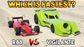 GTA 5 ONLINE : VIGILANTE VS R88 (WHICH IS FASTEST?)