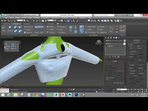 Creating Cloth with Garment Maker (Autodesk 3ds Max)