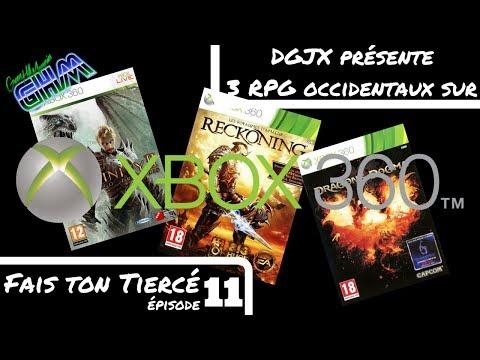 [FaisTonTiercé #011] Découvrez 3 jeux RPG occidentaux sur Xbox 360 !