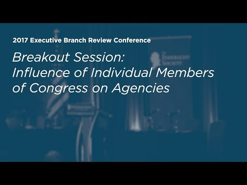 Influence of Individual Members of Congress on Agencies