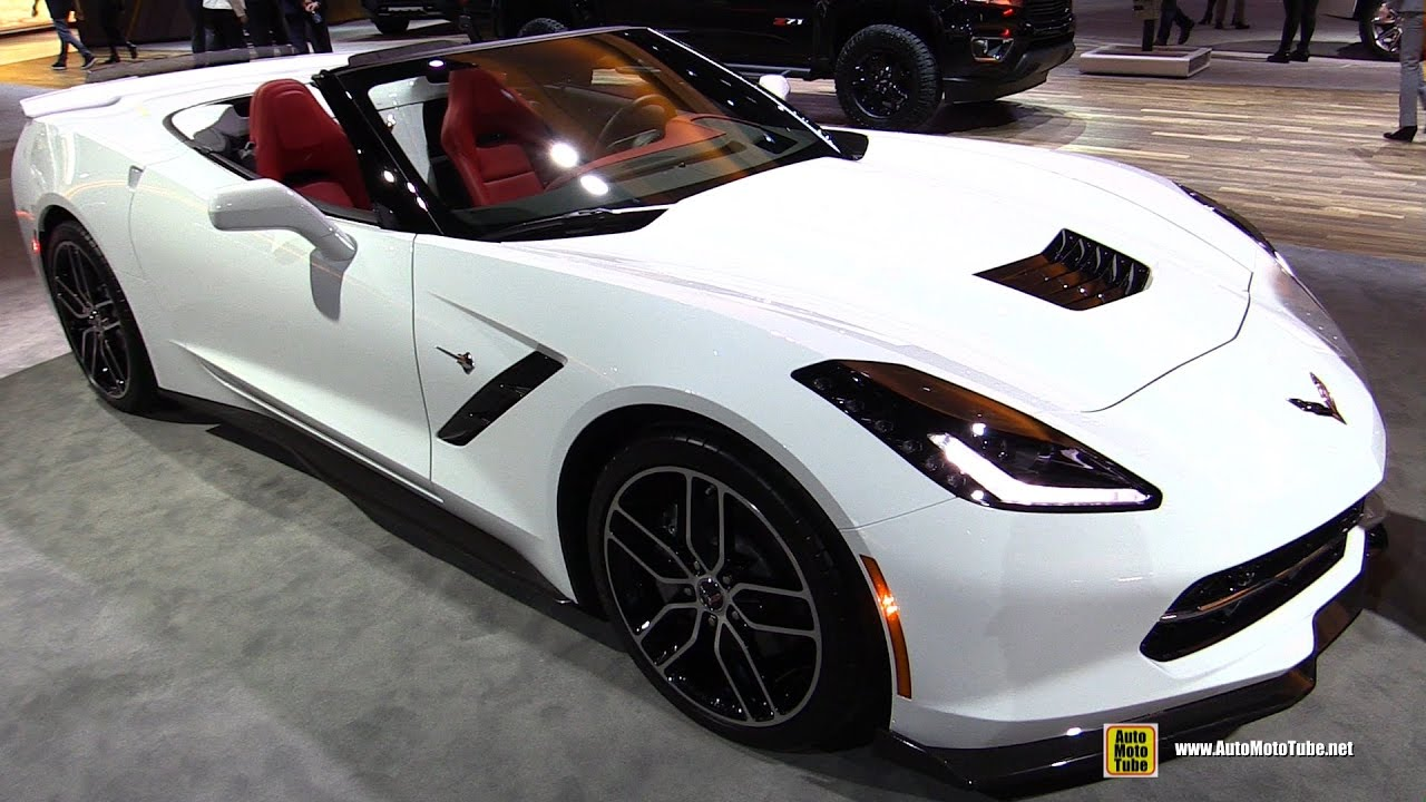 2017 Chevrolet Corvette Convertible Exterior And Interior Walkaround Detroit Auto Show