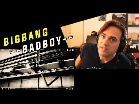 Reaction to BIGBANG - BAD BOY // My Eyes Are Confused By My Ears