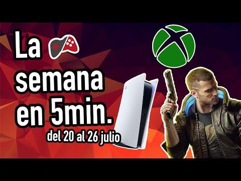 Noticias videojuegos semana del 20 al 26 de julio 2020