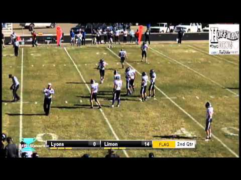 1A Football Playoffs- Lyon Lions At Limon Badgers