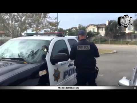 How to threaten a cop with citizen's arrest